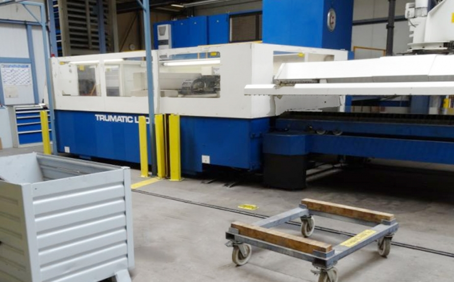 Trumpf Laser 3030 Manual Used Trumpf Trumatic 3030 Laser