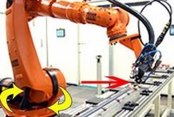 TRUMPF - Kuka YAG laser welding robot