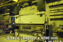 LVD PPEB 640 ton x 4590 mm CNC