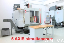 HERMLE X: 800 - Y: 600 - Z: 532 mm CNC