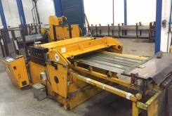 RAS decoil/cut to length 1500 x 2 mm