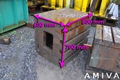 Clamping bloc 800 x 700 x 600 mm