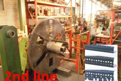 Colombo Profiling line for making perforated vertical corner profiles