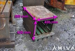 Clamping bloc 580 x 450 x 420 mm